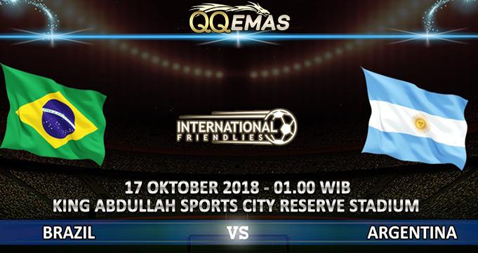 Prediksi Bola Brazil Vs Argentina 17 Oktober 2018