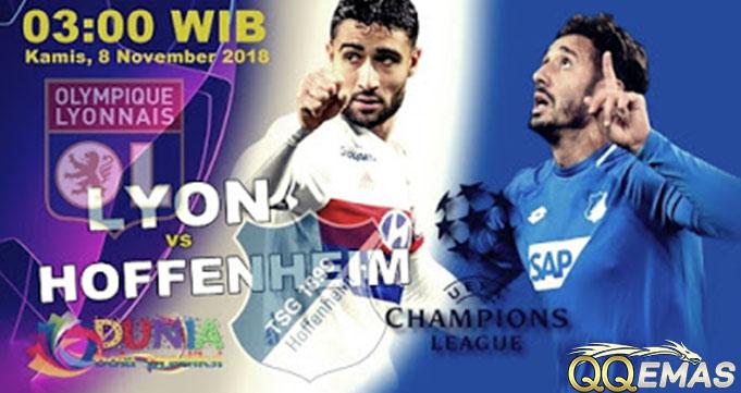 Prediksi Bola Lyon Vs Hoffenheim 8 Oktober 2018