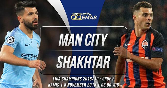Prediksi Bola Man City Vs Shakhtar Donetsk 8 Oktober 2018