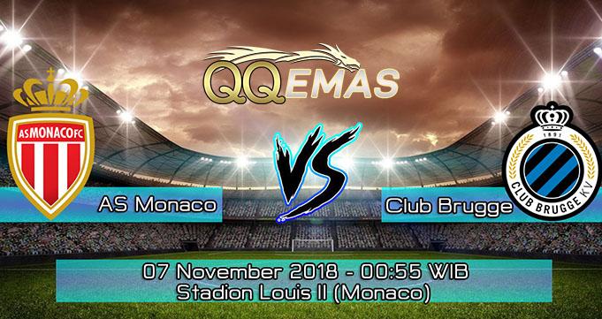 Prediksi Bola Monaco VS Club Brugge 7 Oktober 2018