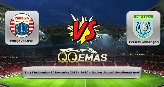 Prediksi Bola Persija Vs Persela 20 November 2018