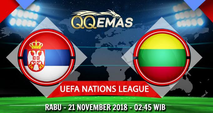 Prediksi Bola Serbia Vs Lithuania 21 November 2018