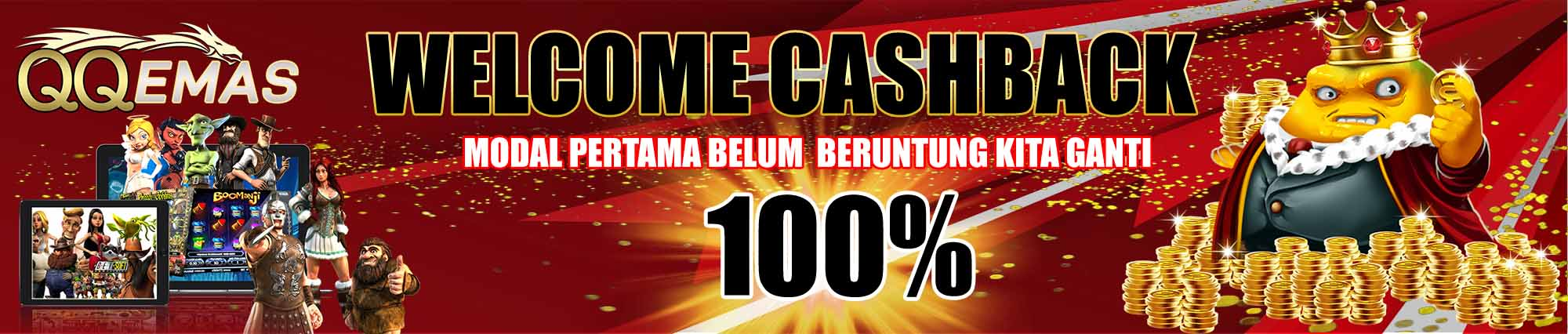 bonus welcome cashback