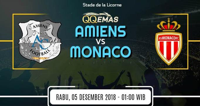 Prediksi Bola Amiens SC Vs Monaco 5 Desember 2018