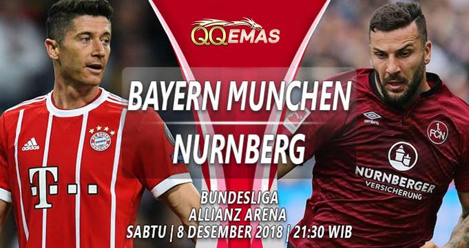 Prediksi Bola Bayern Munich Vs Numberg 8 Desember 2018