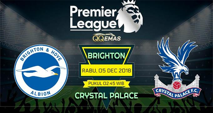 Prediksi Bola Brighton Vs Crystal Palace 5 Desember 2018
