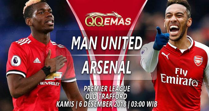 Prediksi Bola Man United Vs Arsenal 6 Desember 2018