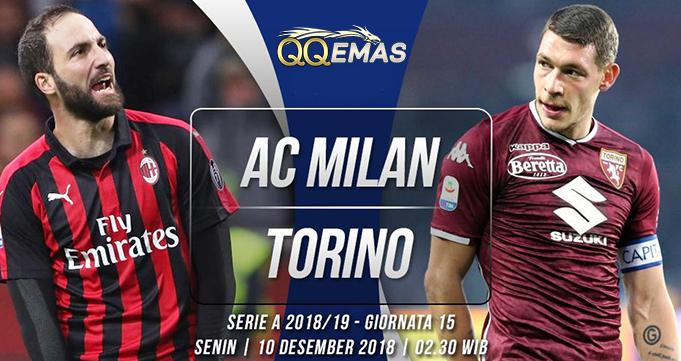 Prediksi Bola Milan Vs Torino 10 Desember 2018