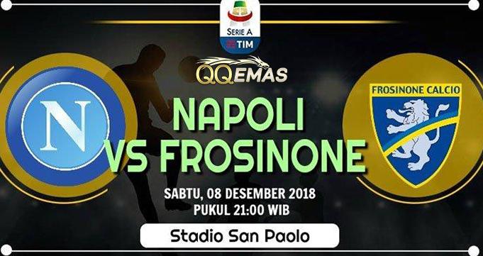 Prediksi Bola Napoli Vs Frosinone 8 Desember 2018