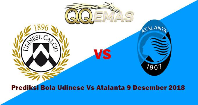 prediksi Bola Udinese Vs Atalanta 9 Desember 2018