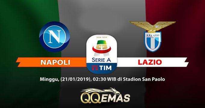 Prediksi Bola Napoli vs Lazio 21 Januari 2019