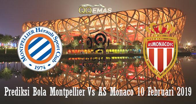 Prediksi Bola Montpellier Vs AS Monaco 10 Februari 2019
