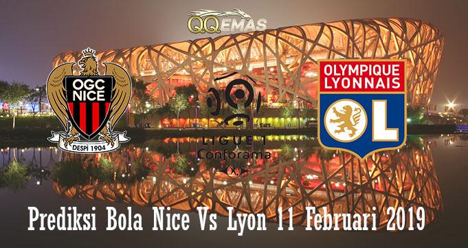 Prediksi Bola Nice Vs Lyon 11 Februari 2019
