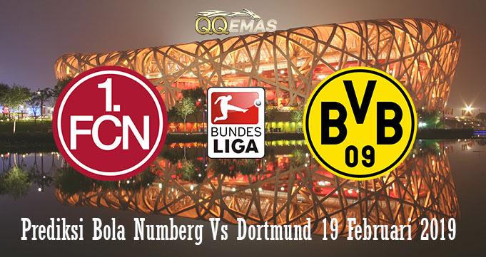 Prediksi Bola Numberg Vs Dortmund 19 Februari 2019