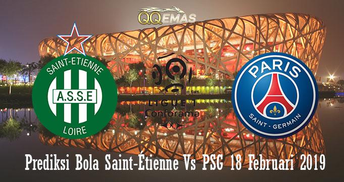 Prediksi Bola Saint-Étienne Vs PSG18 Februari 2019