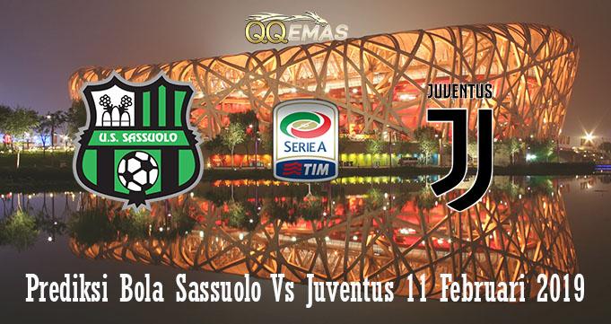 Prediksi Bola Sassuolo Vs Juventus 11 Februari 2019Prediksi Bola Sassuolo Vs Juventus 11 Februari 2019