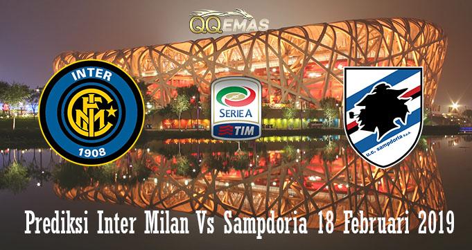 Prediksi Inter Milan Vs Sampdoria 18 Februari 2019