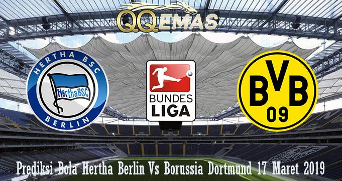 Prediksi Bola Hertha Berlin Vs Borussia Dortmund 17 Maret 2019