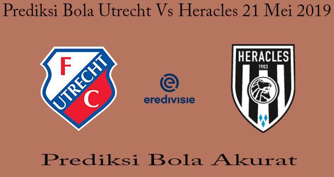 Prediksi Bola Utrecht Vs Heracles 21 Mei 2019