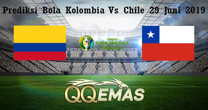 Prediksi Bola Kolombia Vs Chile 29 Juni 2019