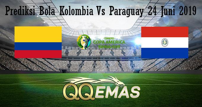 Prediksi Bola Kolombia Vs Paraguay 24 Juni 2019