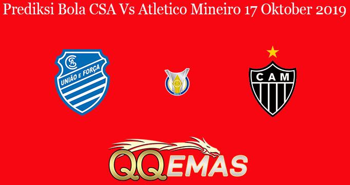 Prediksi Bola CSA Vs Atletico Mineiro 17 Oktober 2019