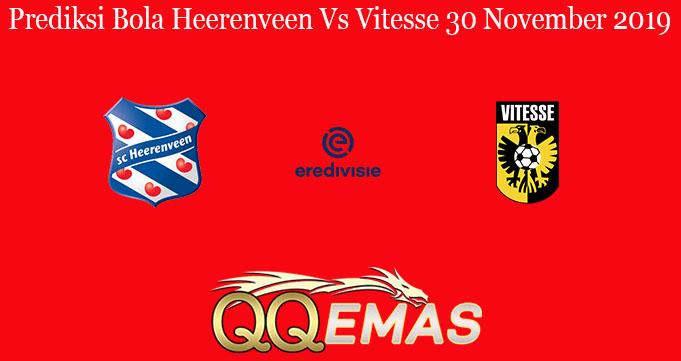 Prediksi Bola Heerenveen Vs Vitesse 30 November 2019