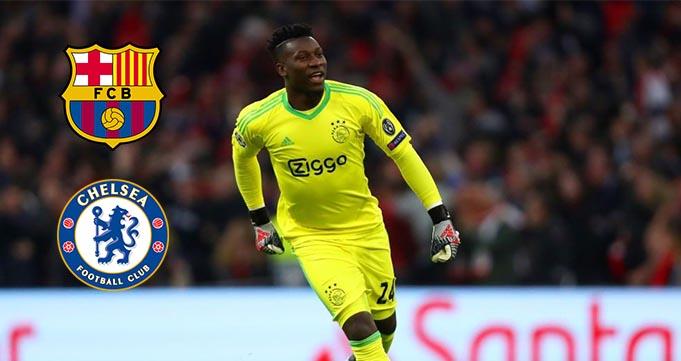 Ajax Tetapkan Harga Kiper Utama Andre Onana