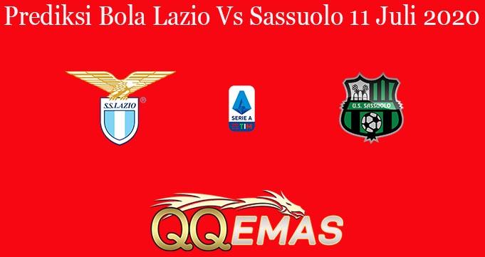 Prediksi Bola Lazio Vs Sassuolo 11 Juli 2020