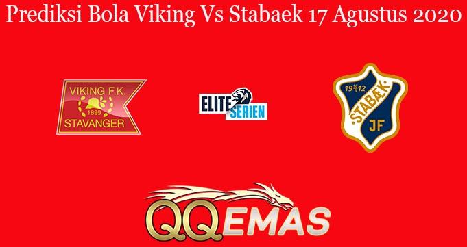Prediksi Bola Viking Vs Stabaek 17 Agustus 2020