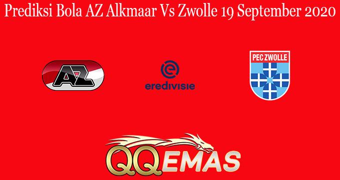 Prediksi Bola AZ Alkmaar Vs Zwolle 19 September 2020