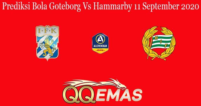 Prediksi Bola Goteborg Vs Hammarby 11 September 2020