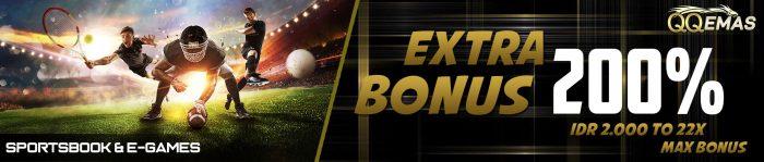 extra bonus 200 sportsbook